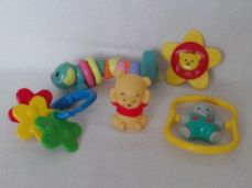 Adorable 1st Set of Baby Playtime & Pram Activity Toys